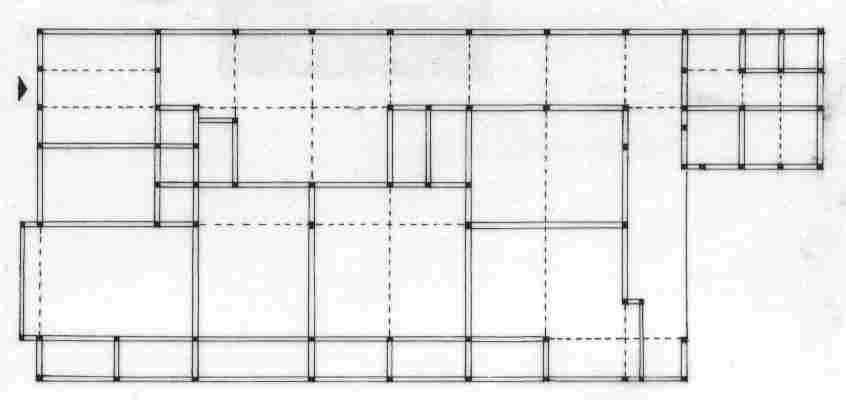 Plan architecture maison japonaise for Plan d architecture